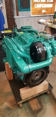 Volvo Penta Ad31d Turbocharged Marine Diesel Engine 4 Cylinder