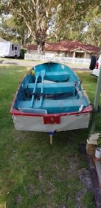 Boat tinnie and trailer