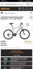 Brand new! Mountain bike plus accessories £150