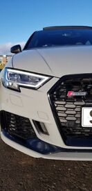 Audi RS3 Saloon - Pan Roof - Sport Exhaust - B&O - Red Cal - SuperSport Seats - 400hp - 174mph