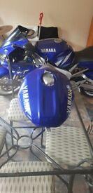 Yamaha 2001 R1 5JJ Fuel Tank