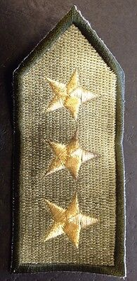 Military Badge Sew On Embroidered Epaulettes Pack Of 2
