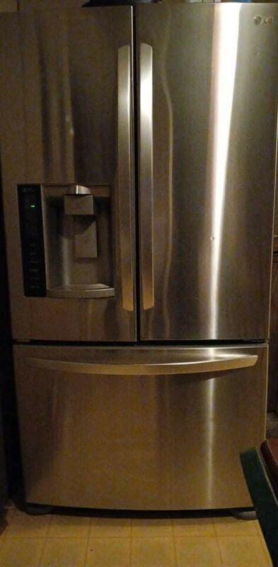 Lg Stainless Steel Refrigerator