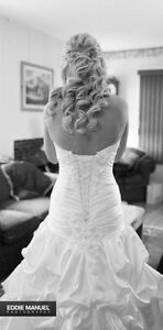 Maggie Sottero Wedding Dress sz 6 no alterations London Ontario image 5