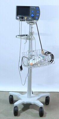 Respironics Nico 2 Cardiac Monitor With Rolling Cart