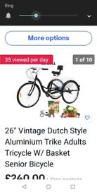 Adult Tricycle .New
