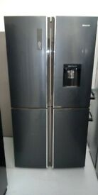 Hisense American Fridge Freezer *Ex-Display* (12 Month Warranty)