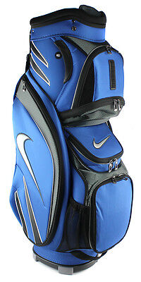 New! Nike Golf M9 Golf Bag Adult Cart Style – 14 Way Top Divider Blue w/ Strap on Rummage