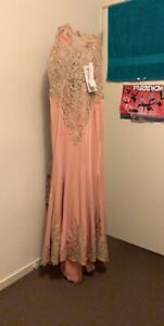 Maxi dress, party long dress pink Blair Athol Port Adelaide Area Preview