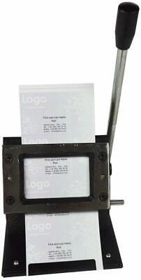 Manual Card Die Cutter Produce Desktop Business Card Round Corner 3.38x2.12inch