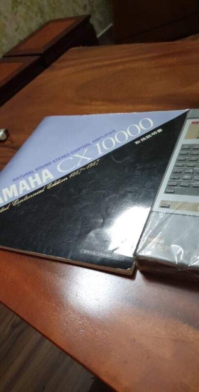 yamaha preamplifier cx-10000 Limited Centennial Edition