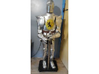 Full size set of ornamental armour with sword
