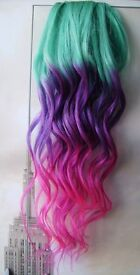 Mobile Luxury Hair Extensions FULL HEAD 170£ - Synthetic Dreads and Hair Dye Solid/Ombre Colours