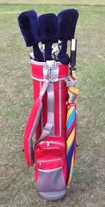 Golf Clubs RH men's Full set + Stand Bag & putter Alphington Darebin Area Preview
