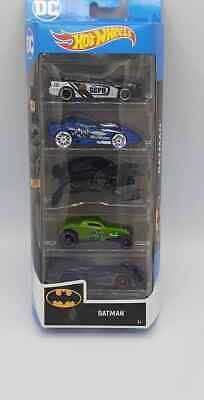 Hot Wheels Batman 5-Pack Batmobile 2020 5pk New In Stock
