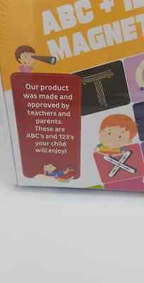142 Soft Foam ABC Alphabet Fridge Magnets with Dry Erase Board Educational Toy