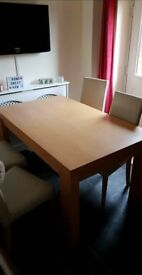 Kitchen Table and Chairs - Collection Only