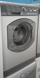 a408 graphite hotpoint 7kg 1400 spin washing machine comes with warranty can be delivered or collect