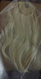Hair extensions in cairns region qld gumtree australia free 613 blonde wraparound ponytail synthetic hair extension piece pmusecretfo Image collections