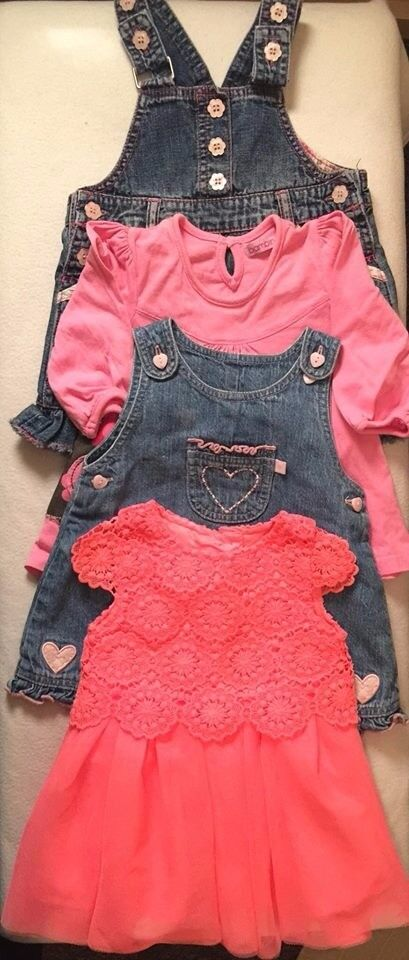 set of clothes for baby girl 3-6 London Bounds Green