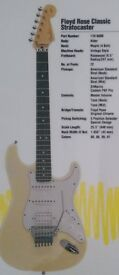 90's Fender Stratocaster USA Classic Series with Floyd Rose DiMarzio PAF Pro, Perfect, N19 5QA