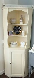 Cream corner unit- furniture