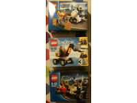 2 Lego City Sets & 1 Creator 3 in 1 Set - Ideal Christmas Present - RRP £18