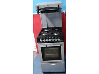 Z608 silver flavel 50cm high level gas cooker comes with warranty can be delivered or collected