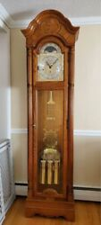 Howard Miller 610-989 Chandler Grandfather Clock 76th Anniversary Edition