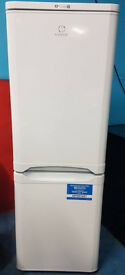 n500 NEW white indesit 70/30 fridge freezer comes with warranty can be delivered or collected