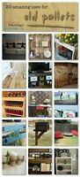 Pallets For Projects From Pinterest