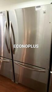 ECONOPLUS ENTREPOT LIQUIDATION FRIGO KENMORE MODELE DE PLANCHER A PRIX IMBATTABLE