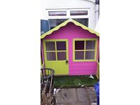 CHILDS PLAYHOUSE/SHED