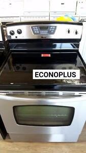 ECONOPLUS LIQUIDATION CUISINIERE INOX A PARTIR DE 349.99$ TAXES INCLUSES