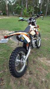 2013 ktm 500 exc Jimboomba Logan Area Preview