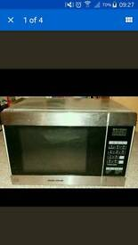Morphy Richards combination microwave oven