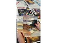 DRAWING WITH PASTELS @ DRAGON ARTS CHARITY