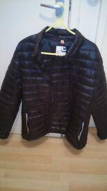Black bubble coat