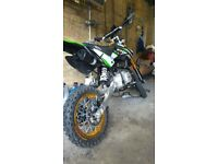 M2R KMX140 PITBIKE - CARBON. LIMITED EDITION. GOOD CONDITION, FULLY WORKING.