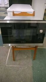 BOSCH 900W BUILT IN MICROWAVE OVEN (ex display)