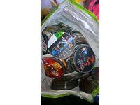 400 + DVD's, CD's, PS3, Xbox 360, PS4, PS2, PS1, Wii and Original Xbox games Job Lot!
