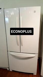 ECONOPLUS LIQUIDATION FRIGO BLANC 3 PORTES A PARTIR DE 799.99 TAXES INCLUSES