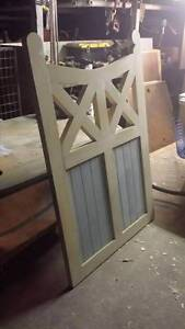 Timber garden or entrance gates Kangaroo Point Brisbane South East Preview