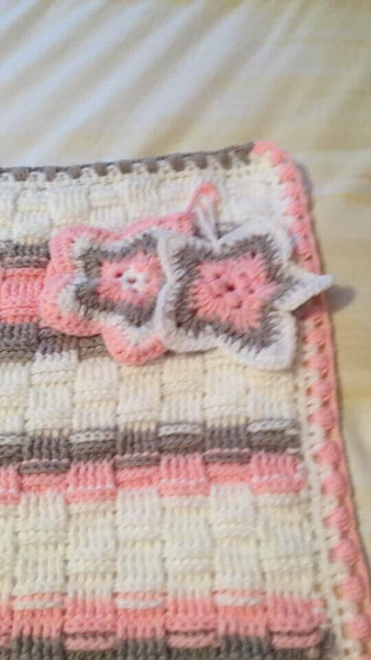 Handmade Crochet Baby Blanket In Sheffield South