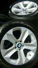 BMW X6 ALLOY WHEELS 19INCH✺GENUINE A1 PIRELL✺98%Tread LEVEL OEM✺ Georges Hall Bankstown Area Preview