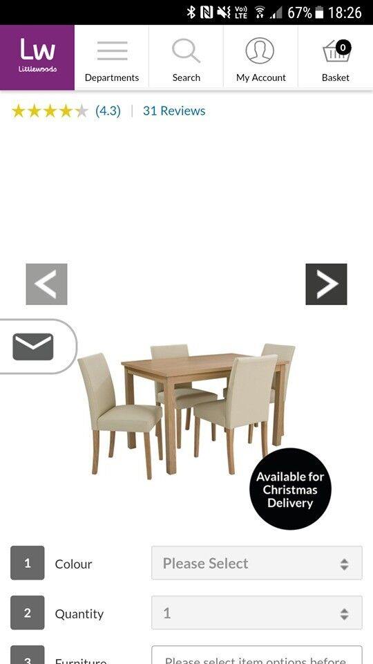 table &chairs,, dining table & 4 chairs in good condition