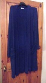 Calven Klein genuine black dressing gown. Size S/M.