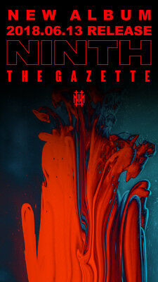 New The Gazette Ninth Album Cd From Japan