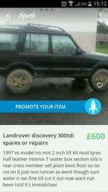 Landrover discovery 300tdi spares or repairs