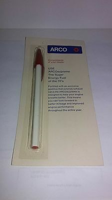 vintage gas advertising 1970's Arco pens